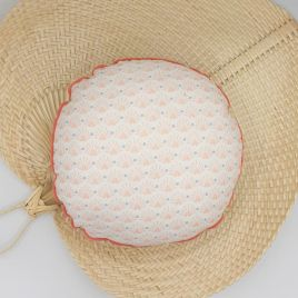 Coussin rond SEIGAIHA